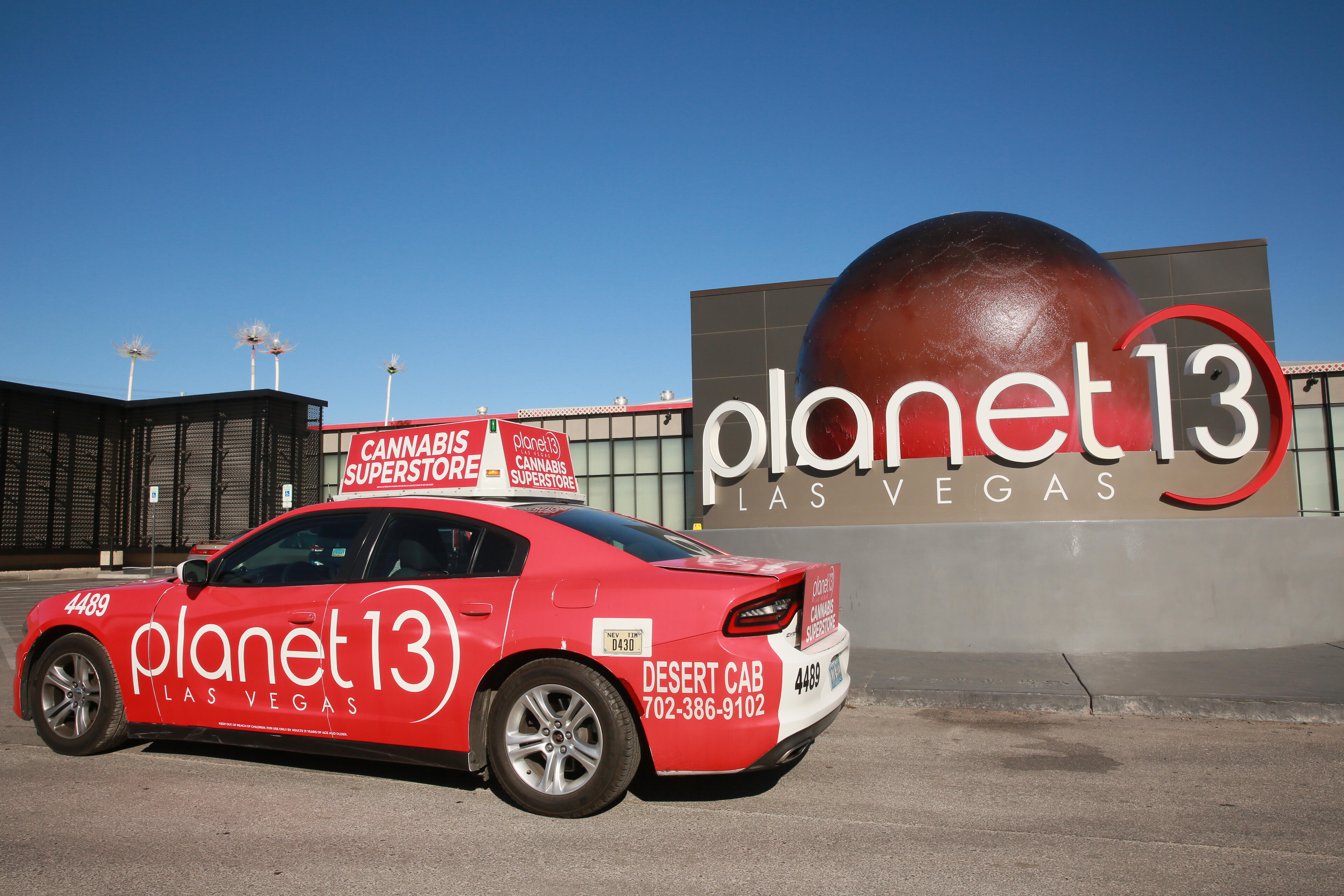 With a total of 115,000 square feet of space, Planet 13 is the largest marijuana dispensary in the world.