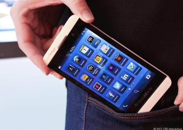 BlackBerry's Z10 can be yours for free.