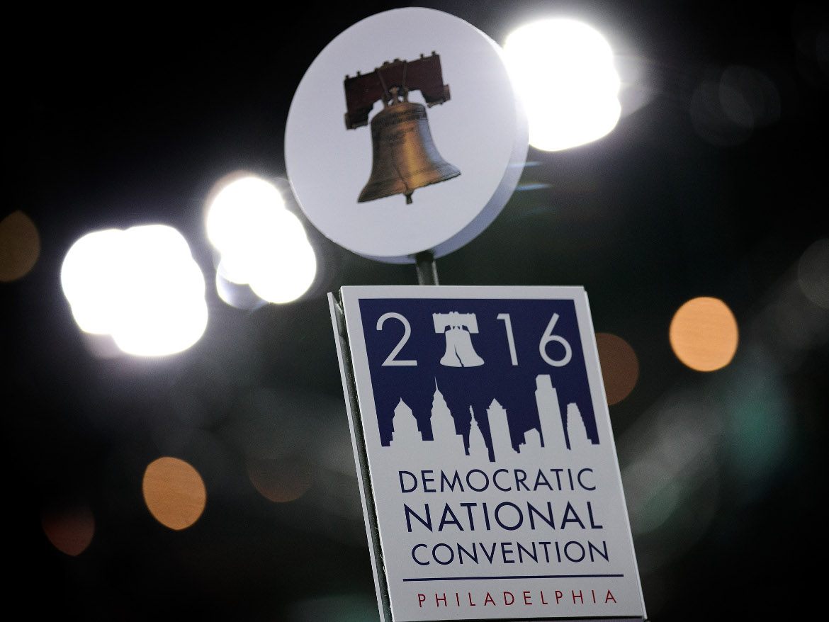 Philadelphia plays host to the 2016 Democratic National Convention.