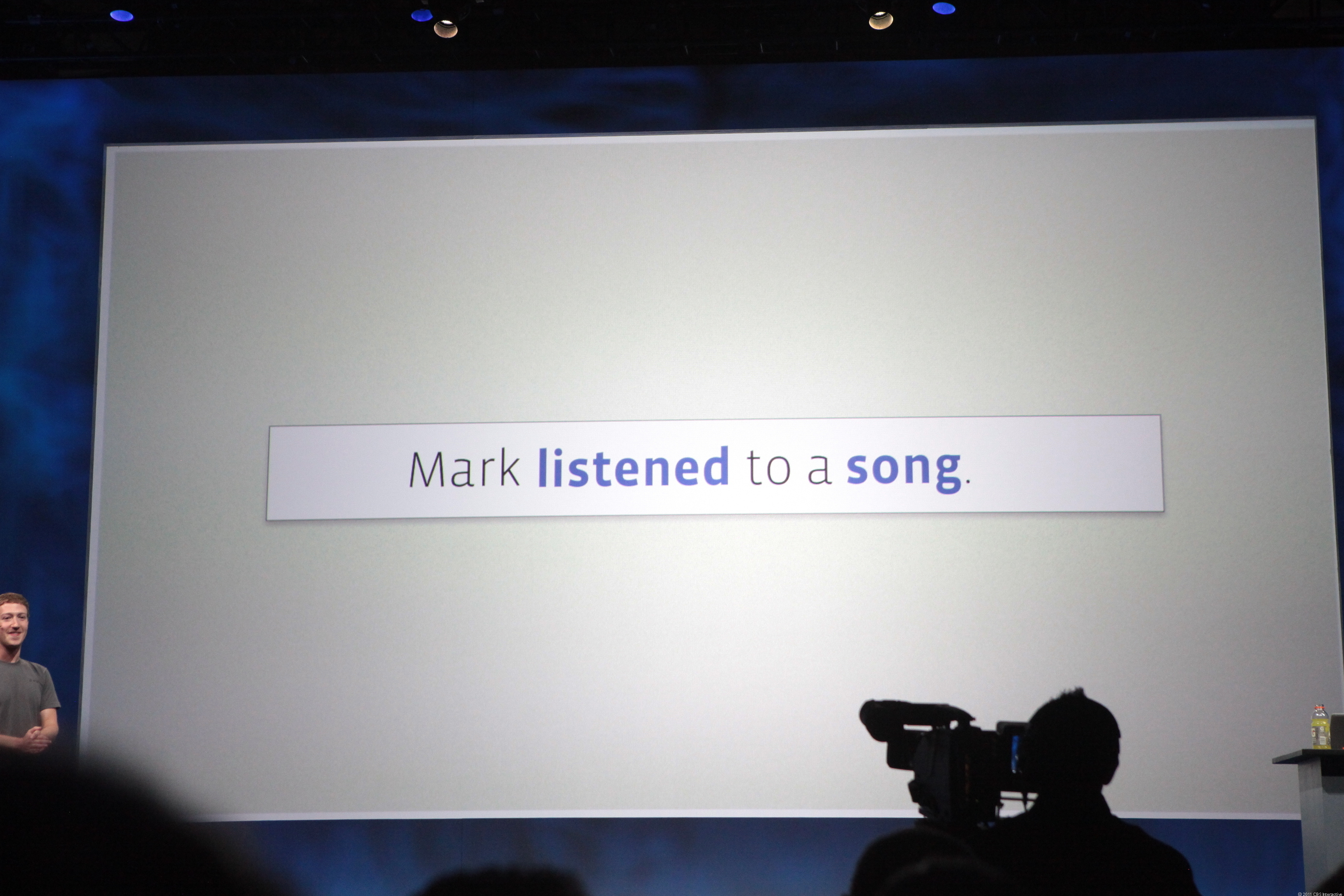 Facebook updates will now include verbs when people listen to songs, cook a meal, or watch a show.