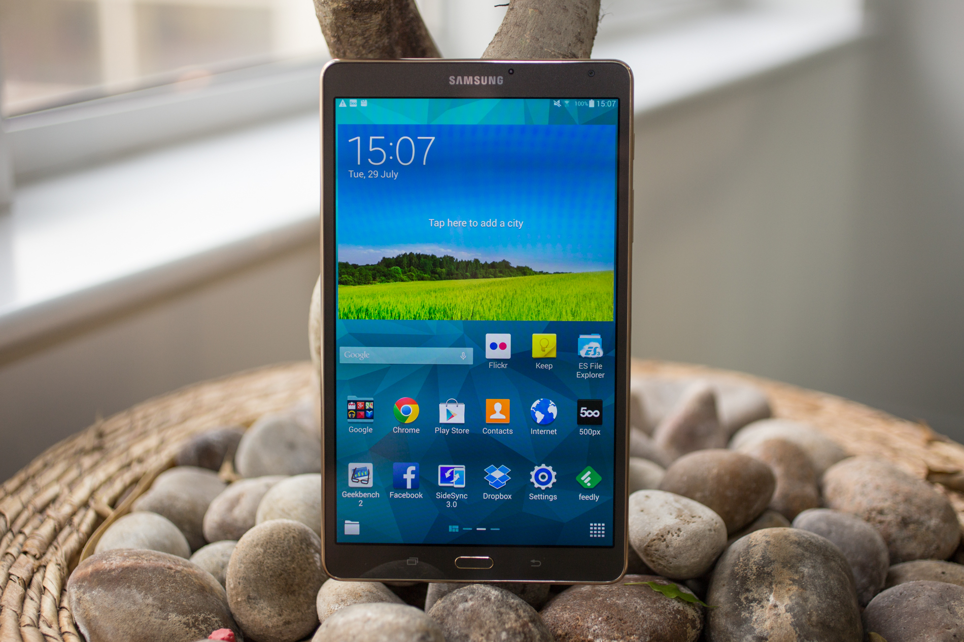 A slick Android tablet, packed with power