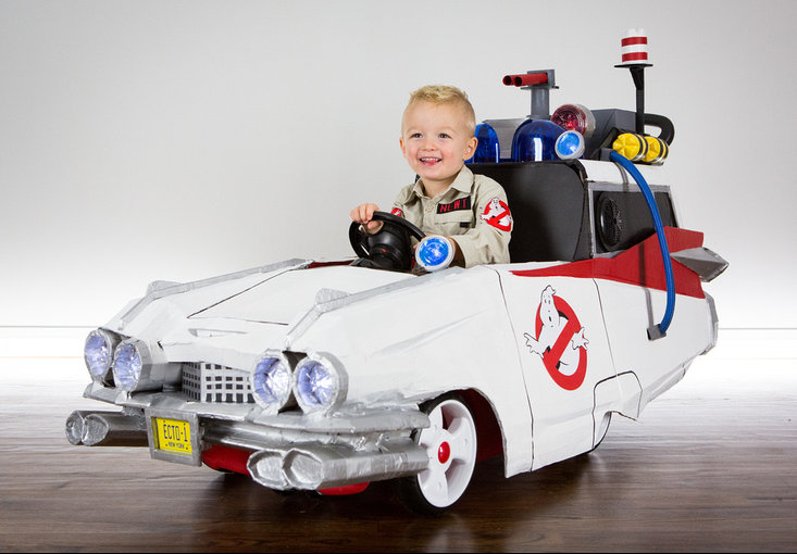 Cooper and Ecto-1