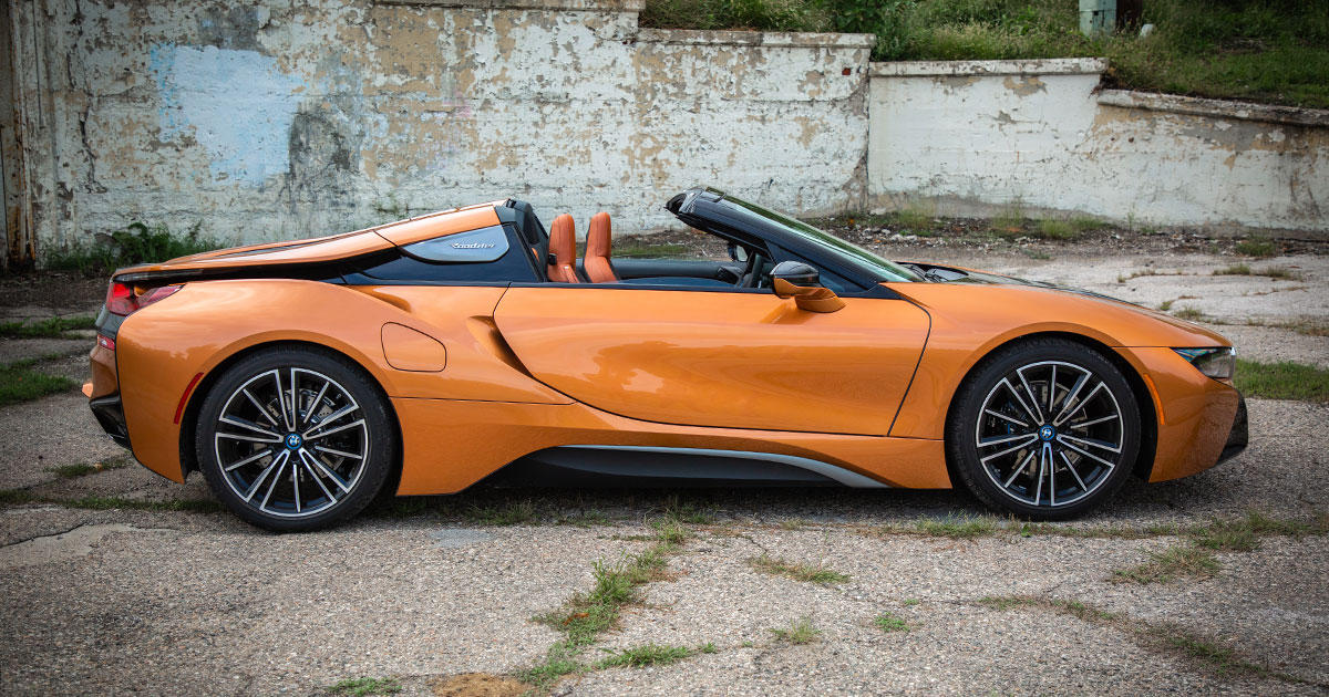 2019 Bmw I8 Roadster Review Near Supercar Performance Instagrammable Style Roadshow