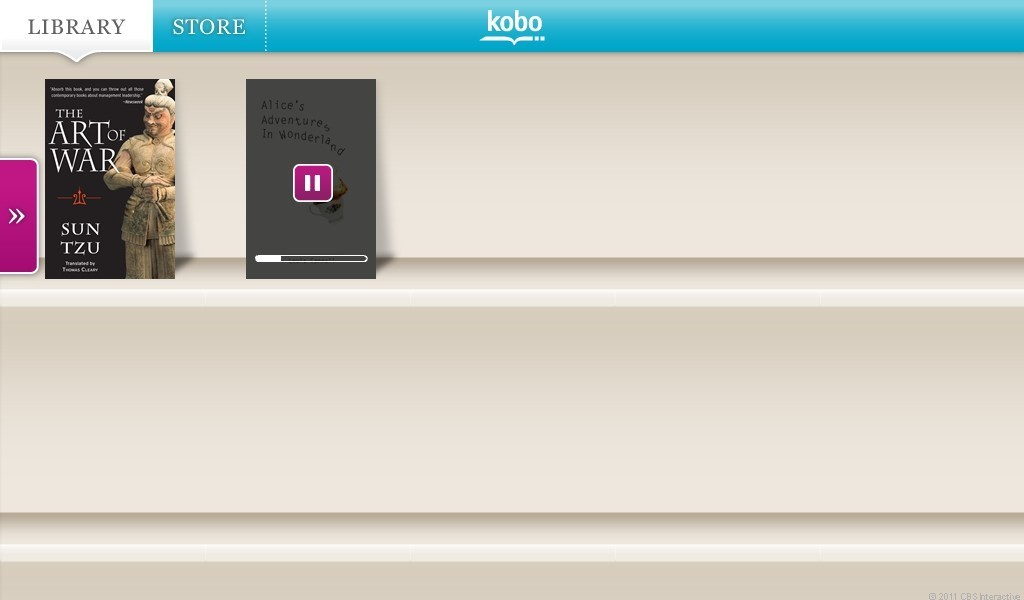 PlayBook Kobo Reader