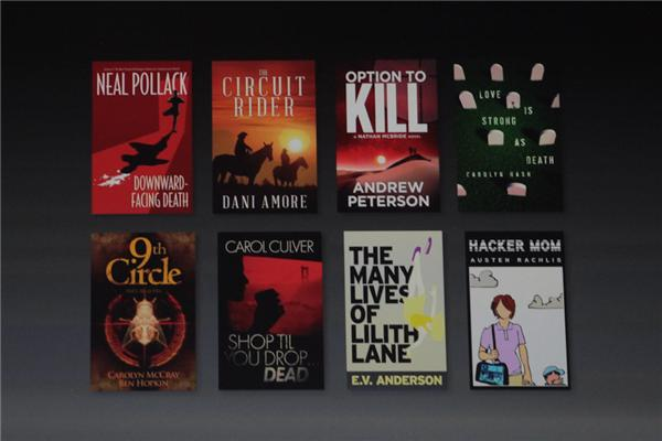 The eight launch titles in Amazon's new serials feature.