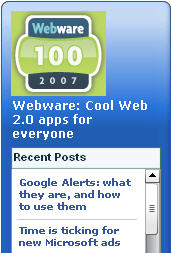 Webware widget