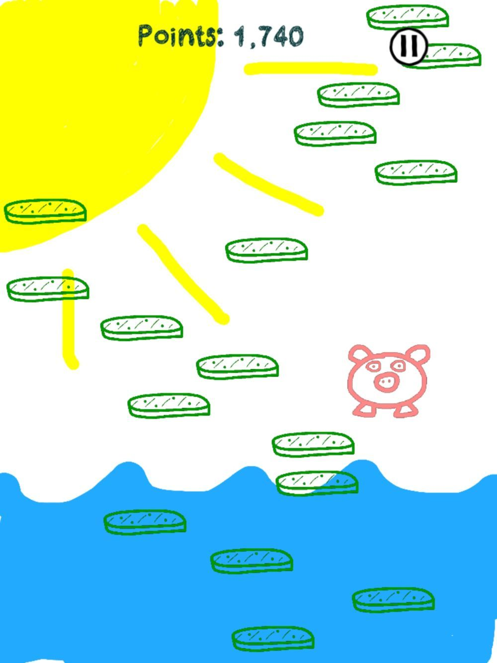 Pickle Jump: Quite possibly the best game involving pigs and pickles ever created.