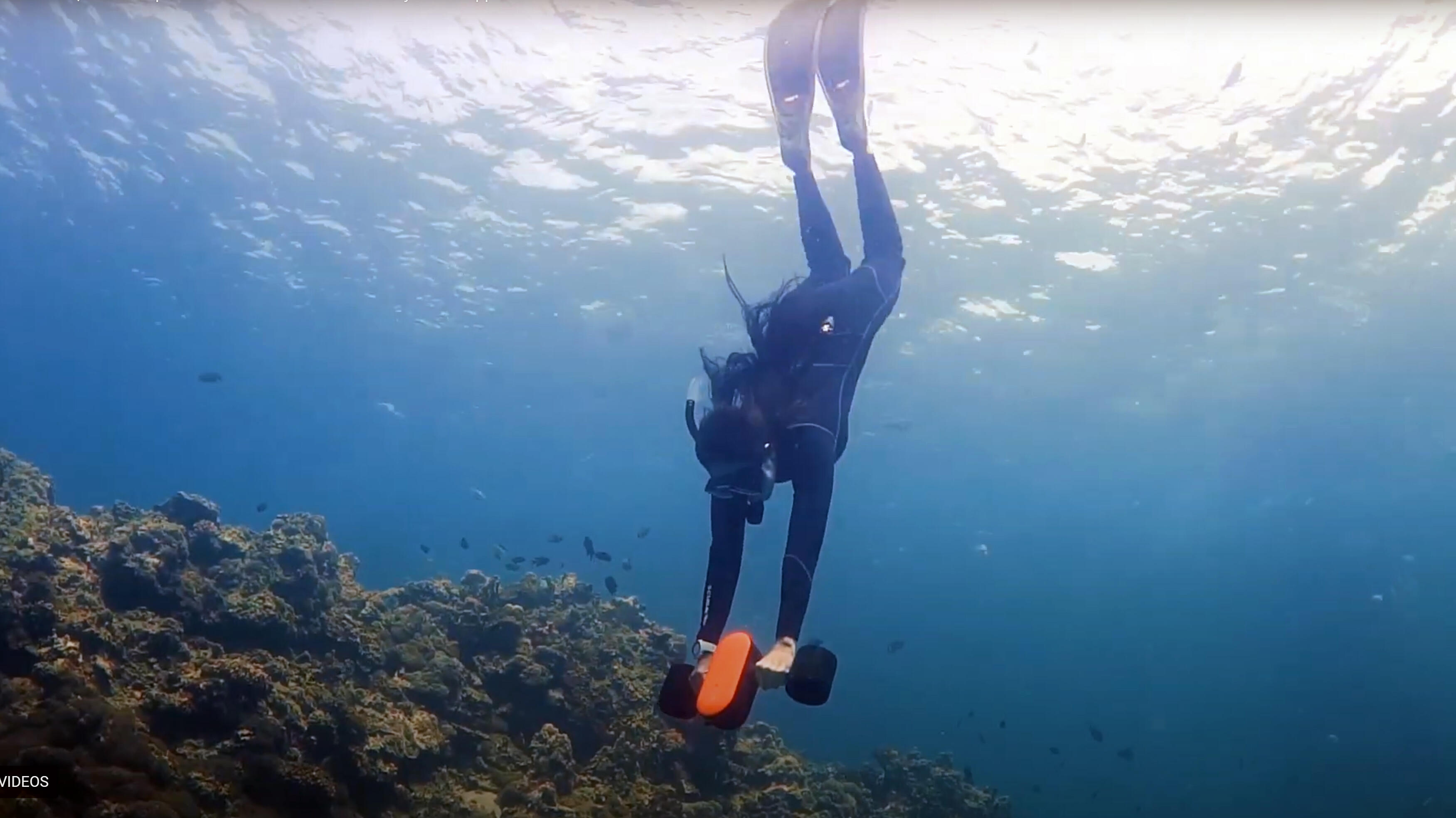 Swim away with this underwater scooter for just 4