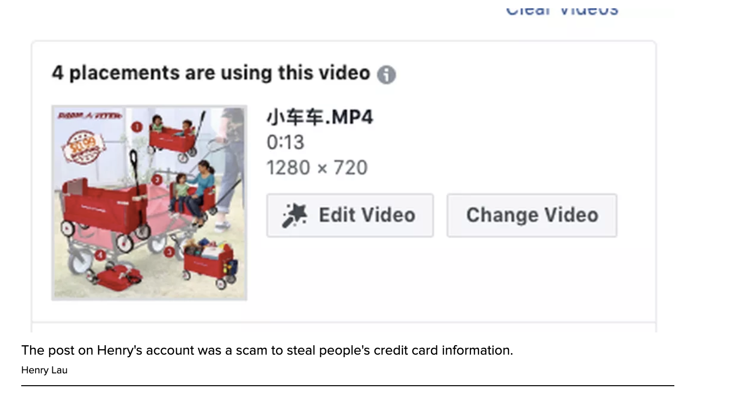 Video: Hackers are targeting Facebook accounts to run ad fraud campaigns
