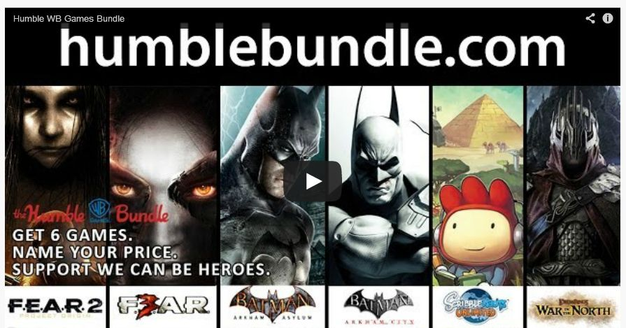 Check out the roster in this Humble WB Games Bundle.
