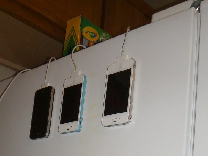 The MagSkin is a stick-on magnetic backing for the iPhone 4 and 4S.