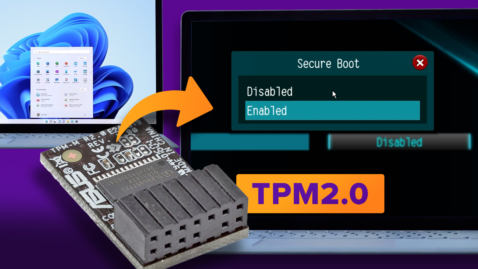 Video: How to enable TPM 2.0 and Secure Boot to install Windows 11