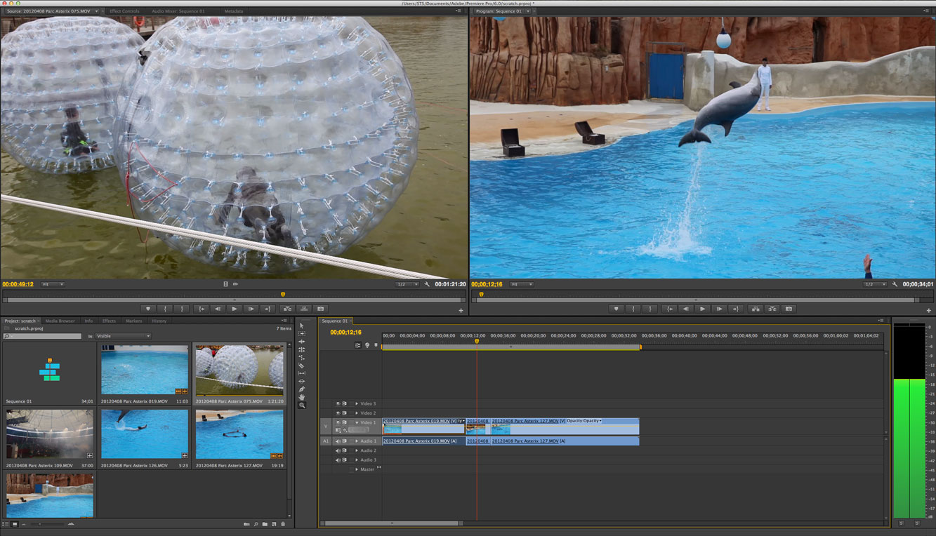 Premiere Pro CS6 strips away much of the widgetry that cluttered its predecessor's user interface.