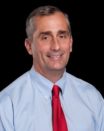 Intel CEO Brian Krzanich used to build his own PCs. He said he built one of the first water-cooled PCs, which he overclocked to beyond 4GHz.