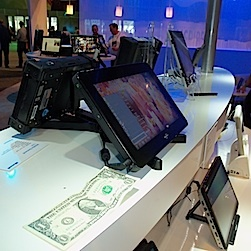 Many Windows 7 tablets, like PCs, have a host of connectors, and sizable heat vents.
