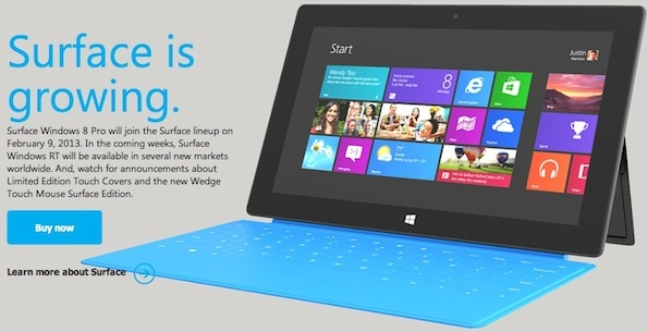 Microsoft is getting more aggressive with its Surface sales strategy.