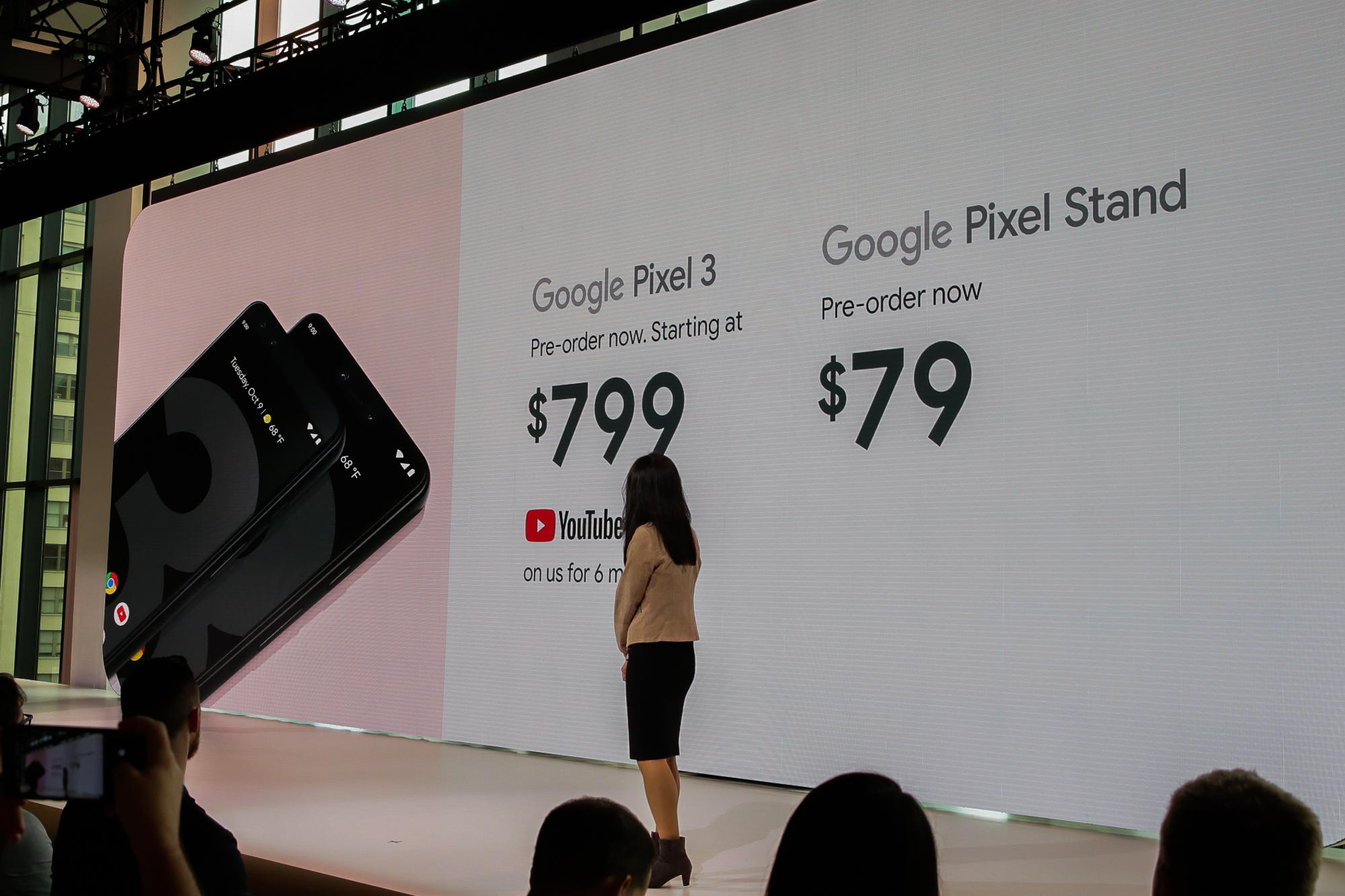 Pixel 3 and Pixel stand cost