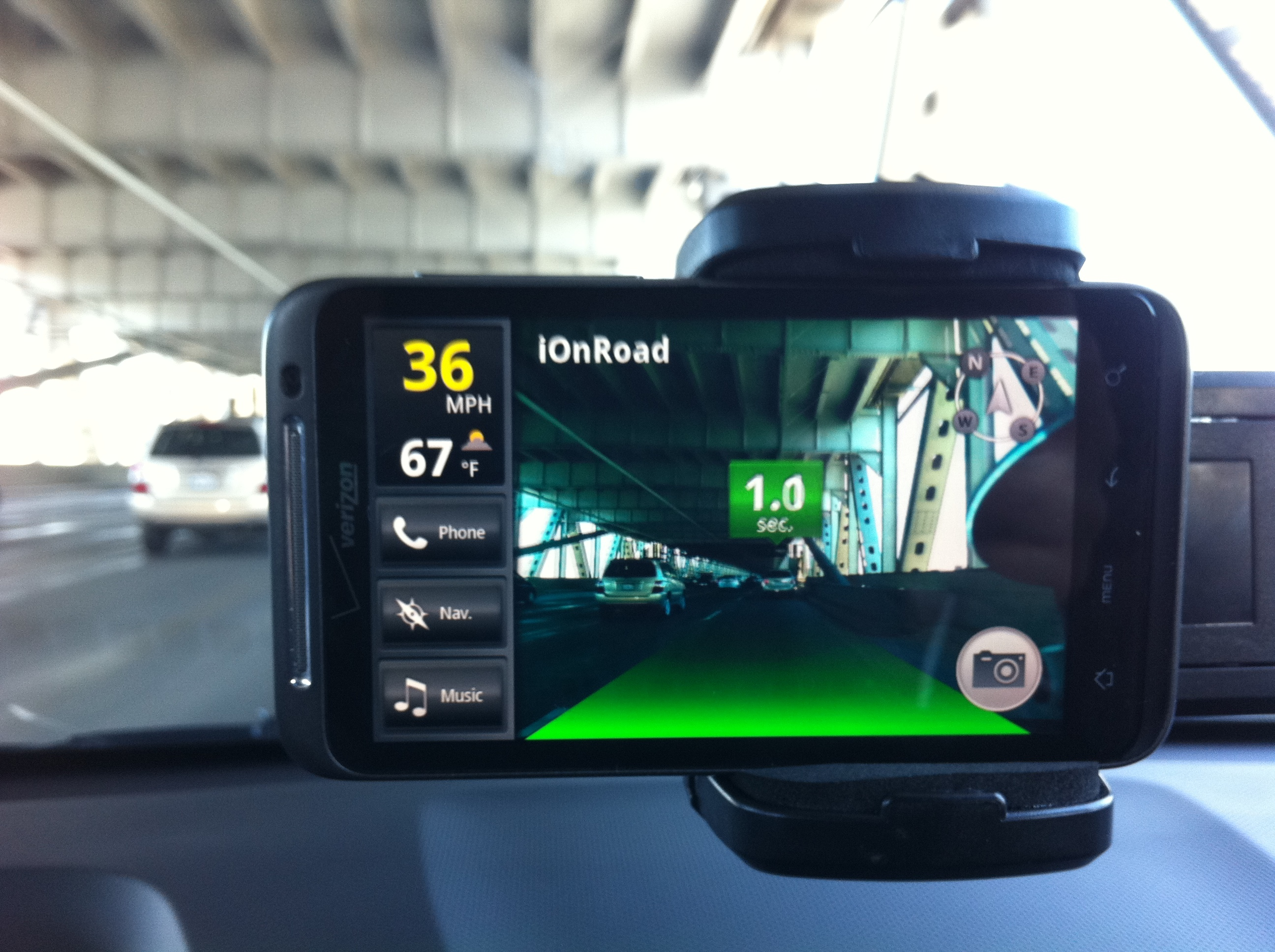 iOnRoad app for Android