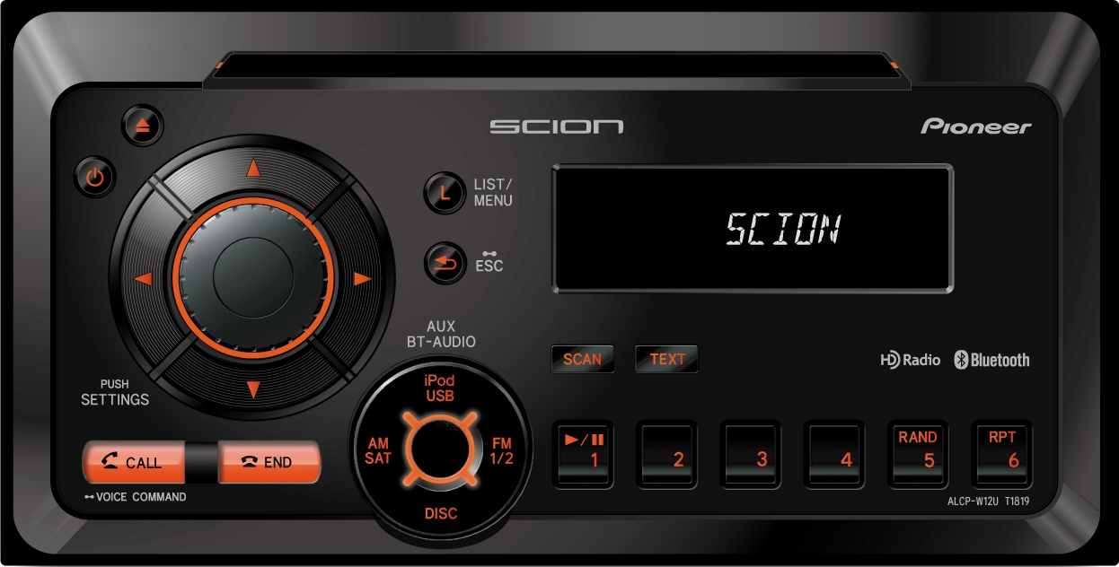 Scion xB head unit
