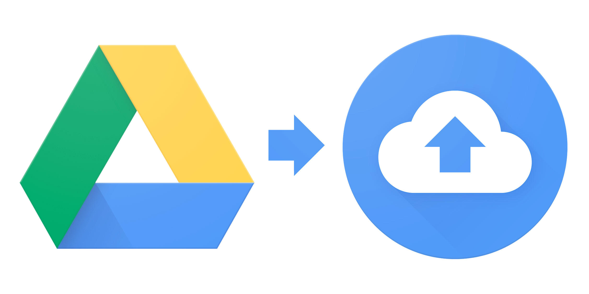 The Google Drive app for personal computers will stop working March 12, 2018. Its replacement, Backup and Sync, is available now.