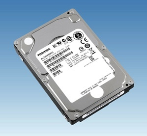 New Toshiba 2.5-inch drives boast a speed of 10,500rpm.