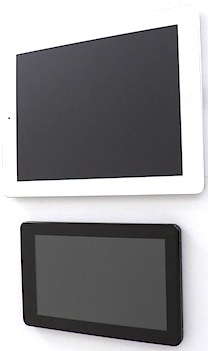 My two tablets, which I use regularly: iPad 2 (top) and Kindle Fire.