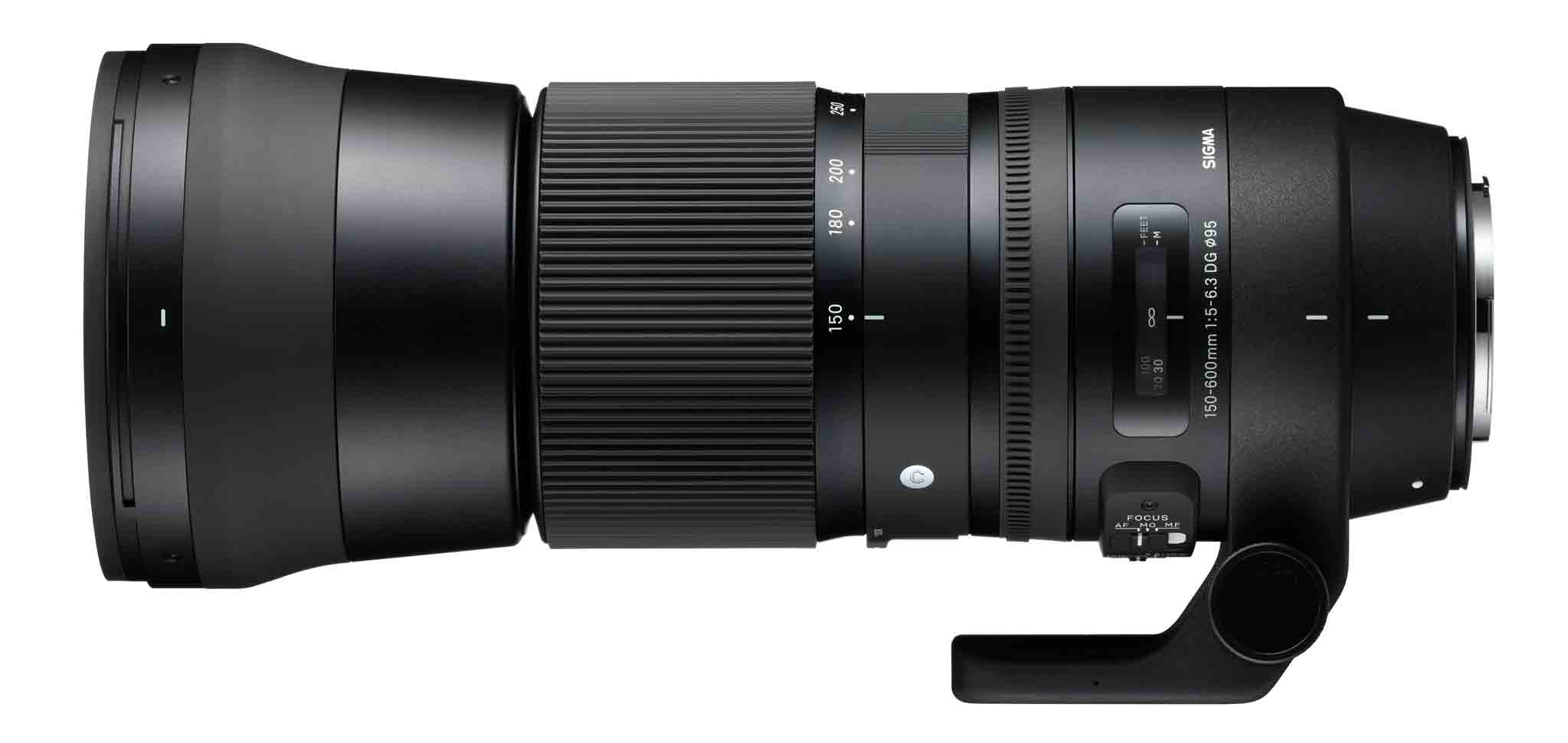 Sigma's 150-600mm F/5-6.3 DG OS HSM Contemporary is aimed at enthusiasts rather than pro photographers.
