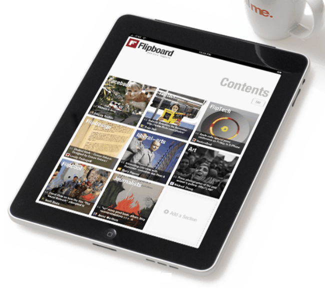 Facebook and Twitter feeds have never looked better than with Flipboard for iPad.