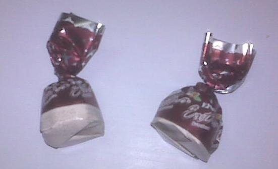 Candy wrappers made from Cereplast's bioresin.