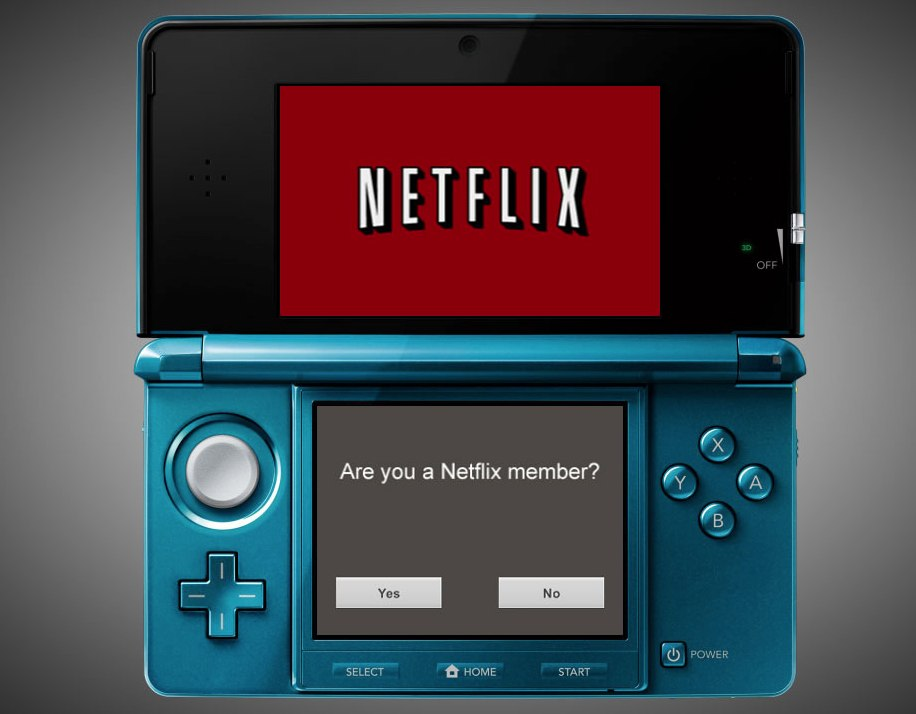 Nintendo's 3DS can now play Netflix content.