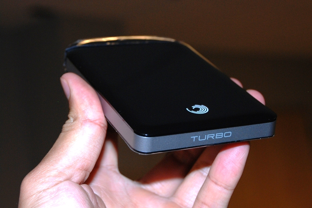 The new GoFlex Turbo from Seagate.
