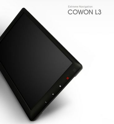 Photo of Cowon L3 portable video player.