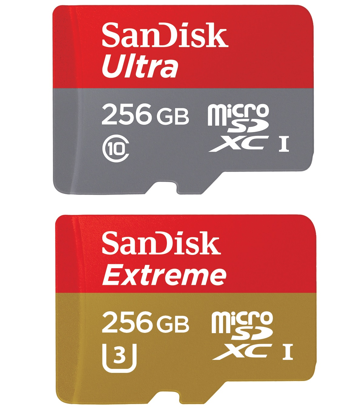 The high-capacity, high-speed miniSD cards from Western Digital.