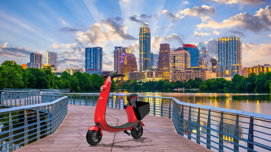 OjO Electric Scooter Rideshare Austin