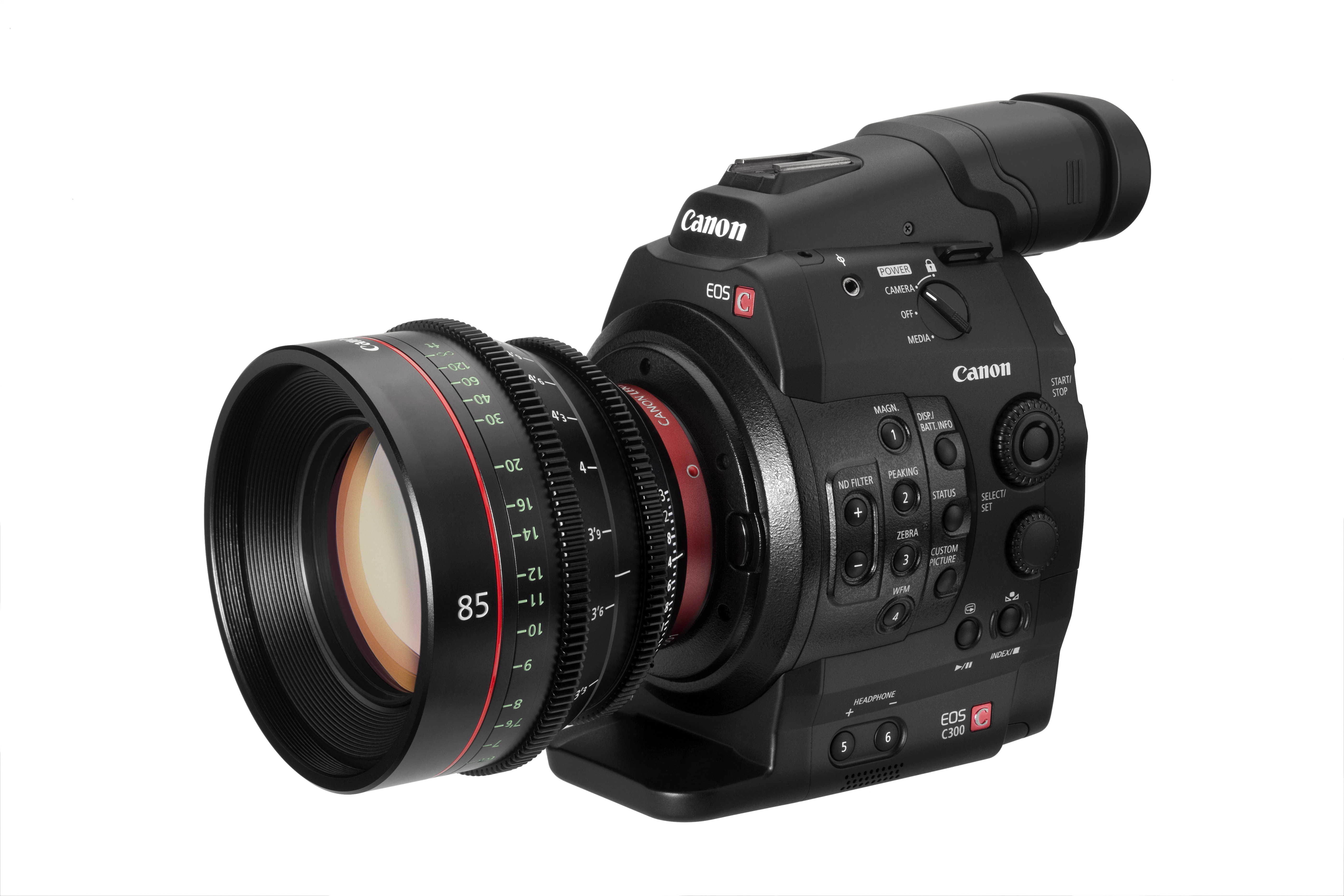 Canon's C300, a videocamera that stems from the company's SLR heritage, has sent ripples through the cinema world.