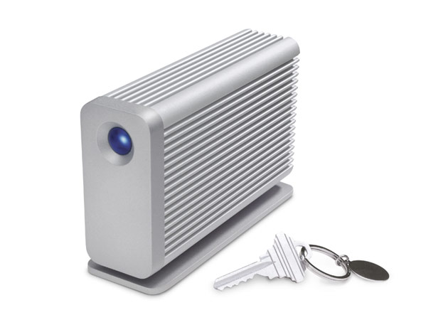 The new Little Big Disk Thunderbolt from LaCie is compact enough to carry on the go.