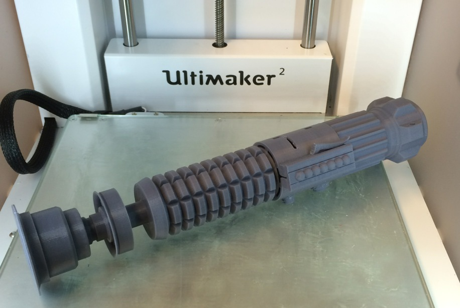 Printed lightsaber from passim