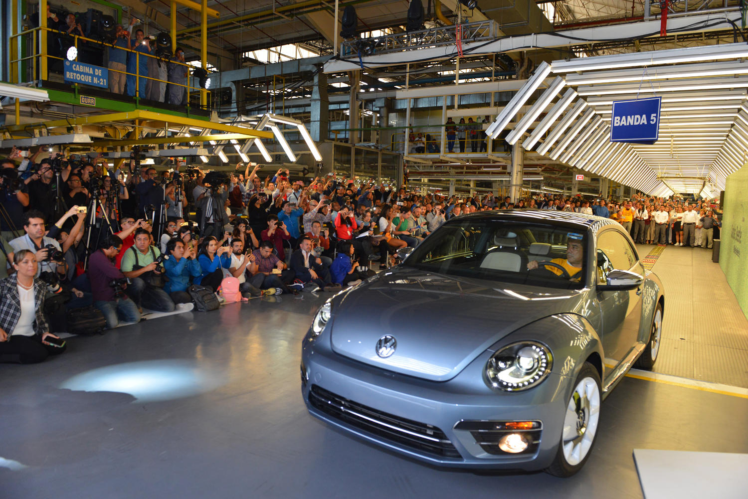 The VW Beetle will no longer be produced