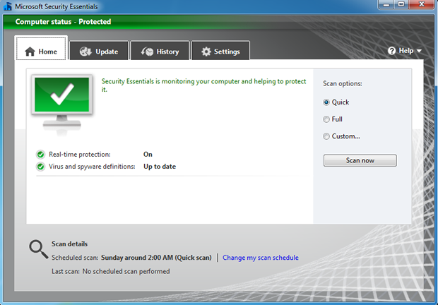 Microsoft has launched the latest version of Security Essentials.
