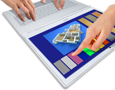 New Windows 8 touchscreen ultrabooks like Acer's 11.6-inch Aspire S7 come standard with solid-state drives.