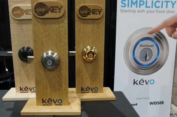 A look at Kwikset's Kevo electronic door lock