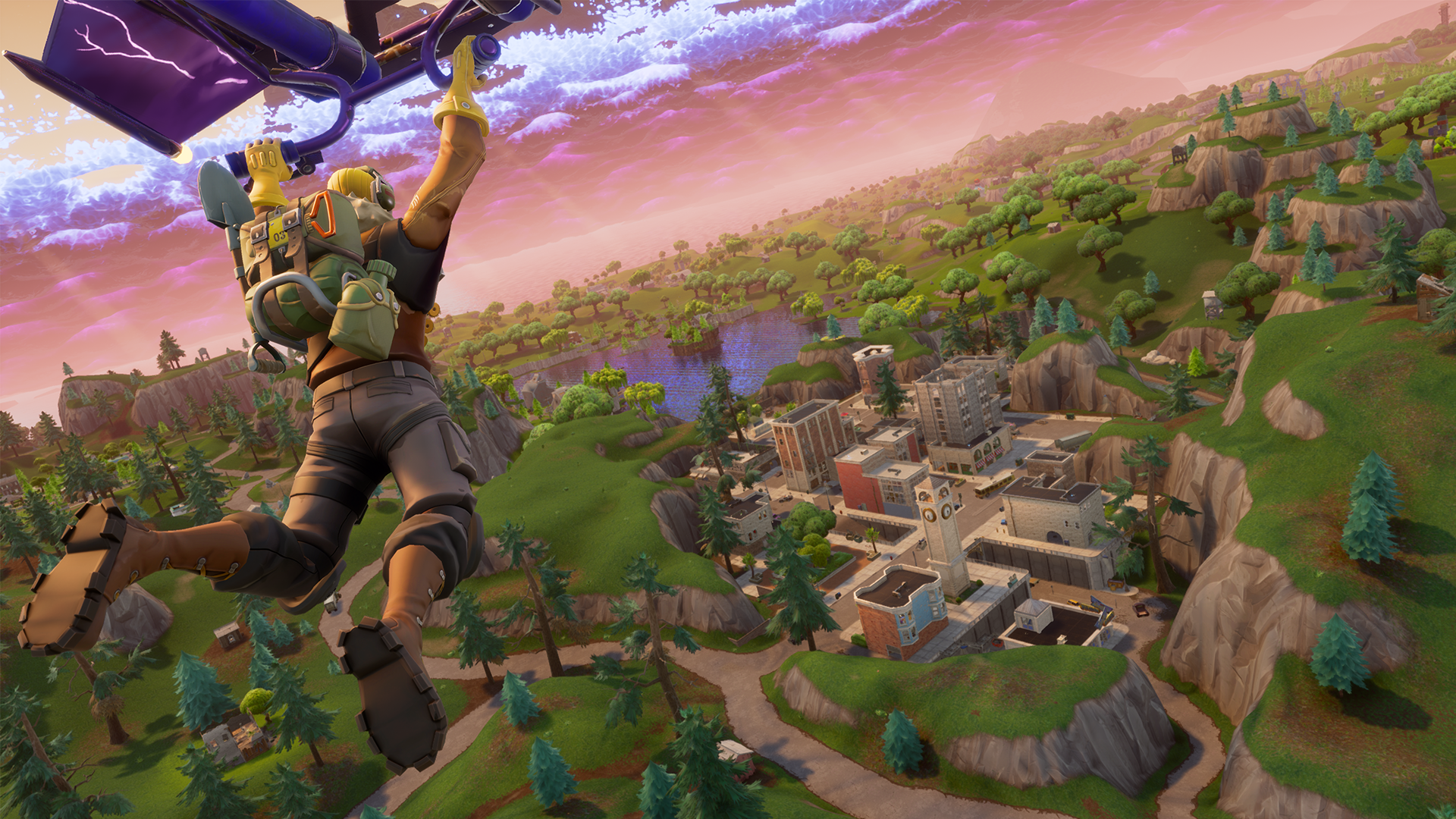 Video: Fortnite on the Nintendo Switch: This is what it looks like