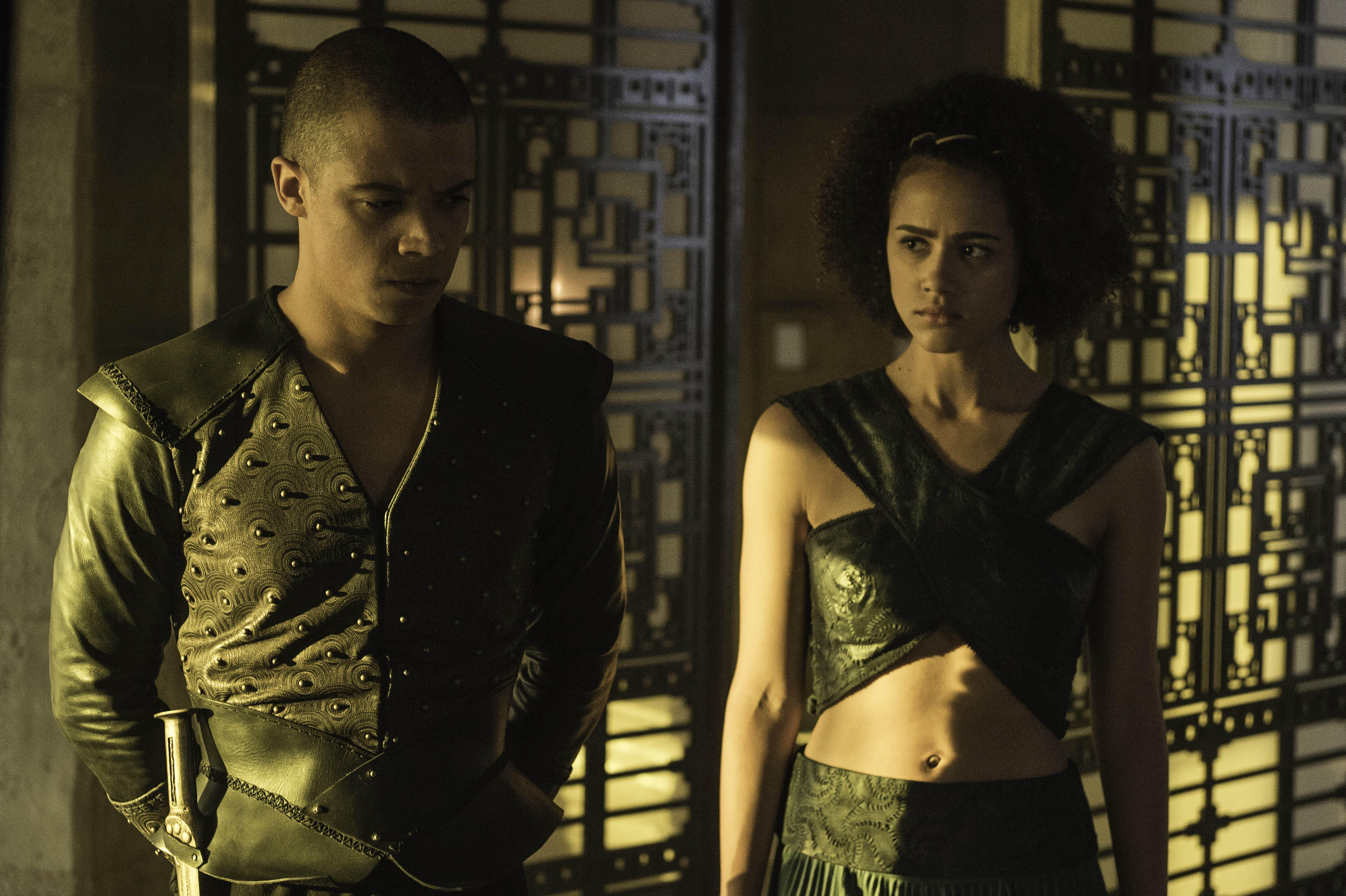 Missandei and Grey Worm live happily ever after
