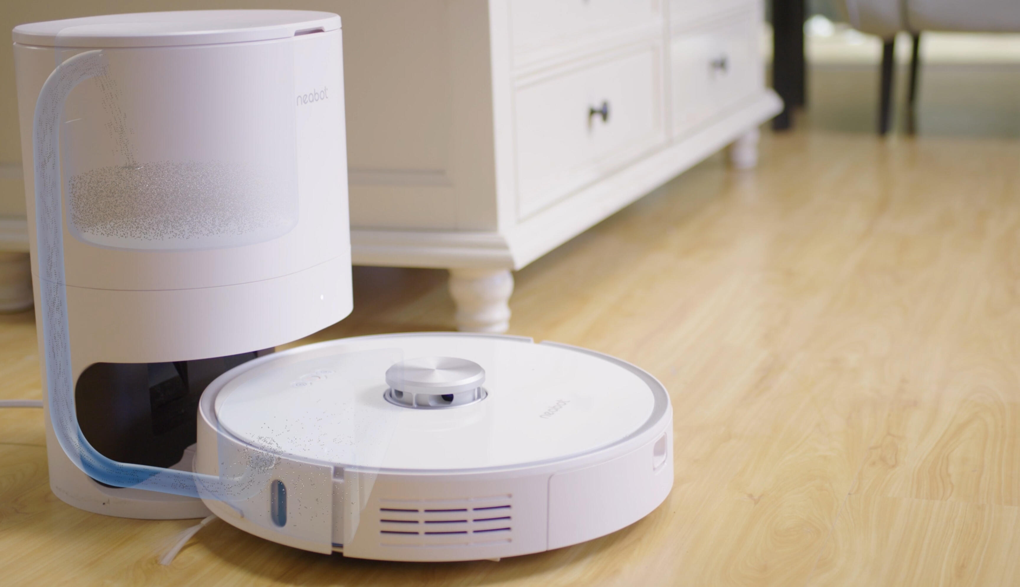 Get the Neabot self-emptying robot vacuum for $365, an all-time low price     - CNET