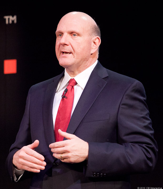 Steve Ballmer speaks at MWC