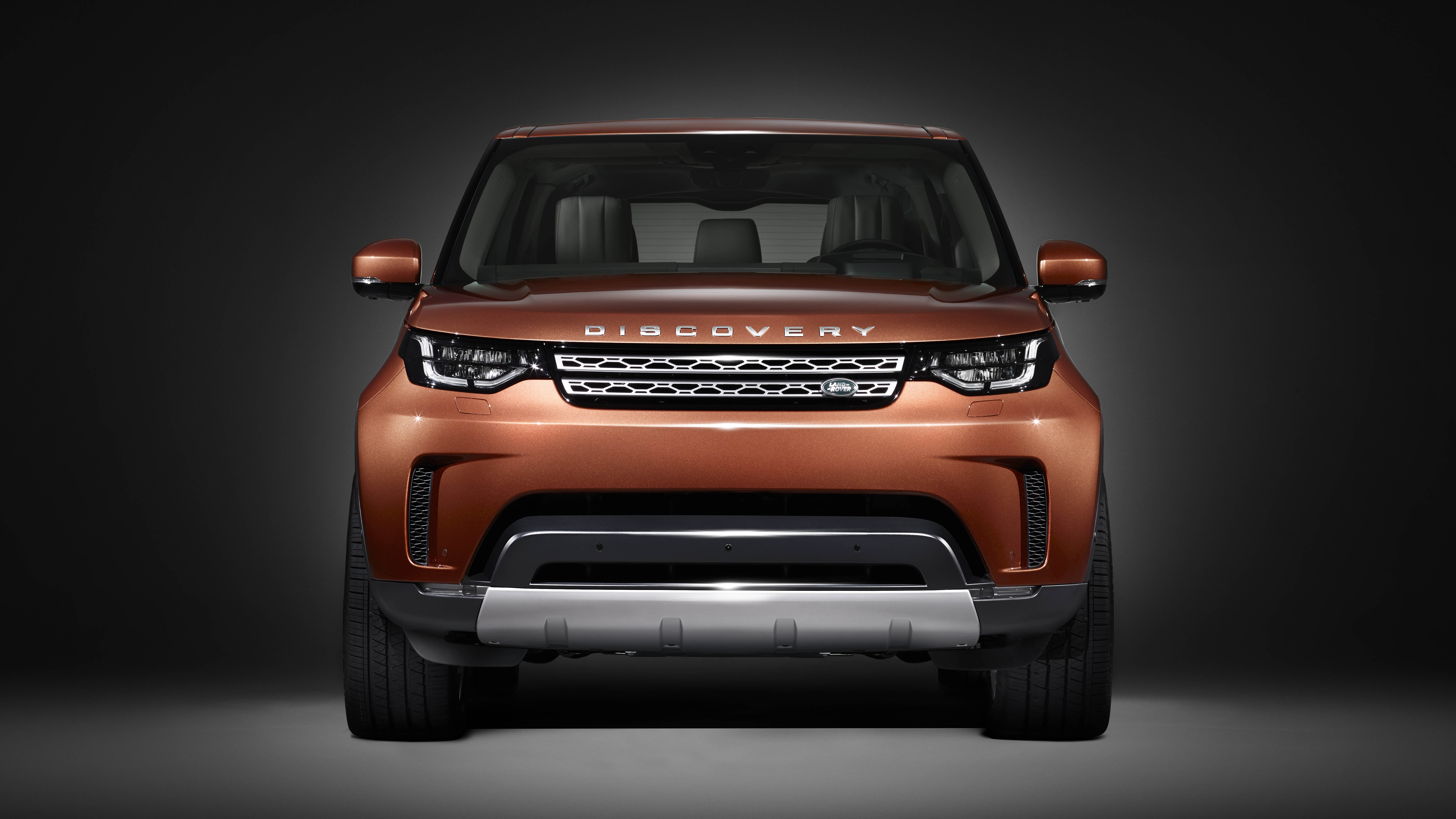 2017 Land Rover Discovery - visage