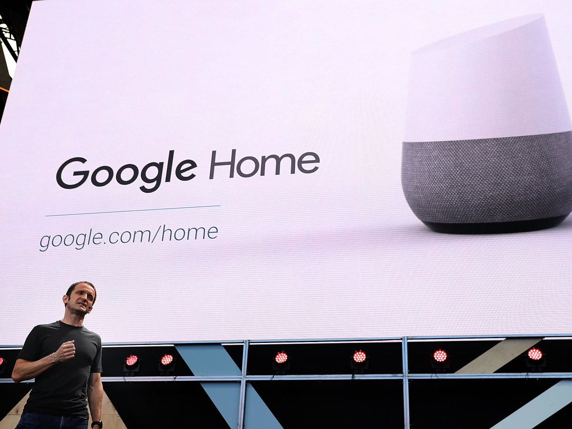 Google built a knock-off of Amazon's Echo. Now, reportedly, it's Apple's turn.