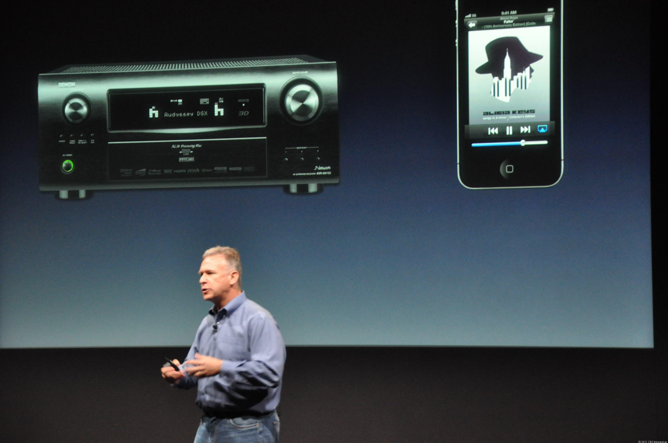 Phil Schiller says AirPlay mirroring is coming to the iPhone 4S, so your phone can mirror what your AppleTV is doing.