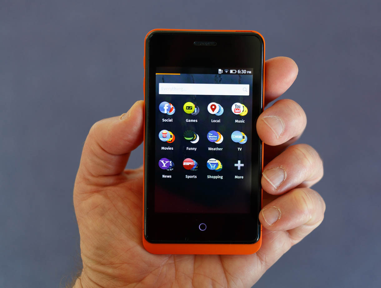 The Geeksphone Keon, a developer-oriented Firefox OS phone