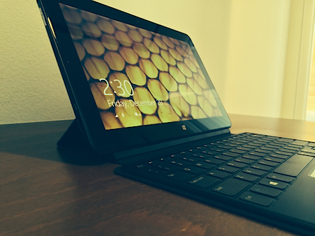Dell Venue 11 Pro with optional keyboard.